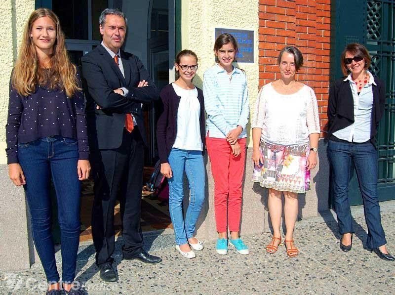 La Montagne : Le lycée Sainte-Marie a mis en place un échange original avec l'Allemagne
