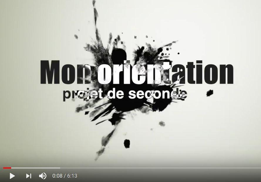 «Mon Orientation» : un film réalisé par des secondes