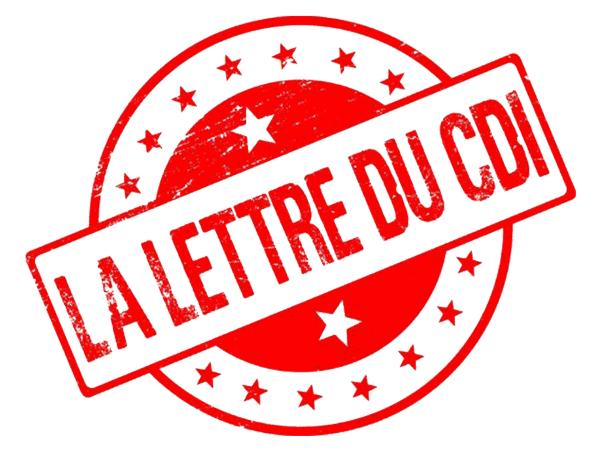 La lettre du CDI #octobre-2019